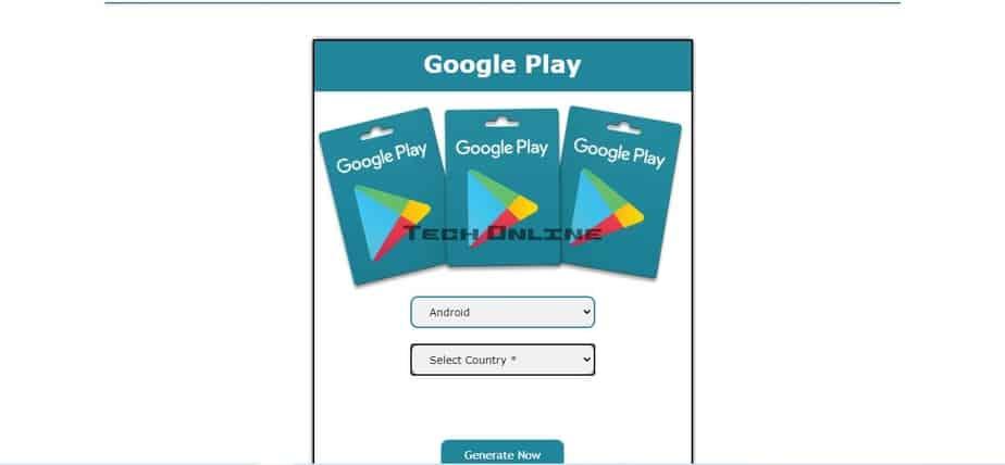 بطاقات جوجل بلاي مجانا