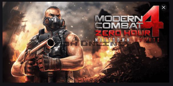 تحميل لعبة Modern Combat 4