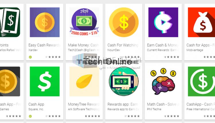 تطبيقات ربح بطاقات جوجل بلاي