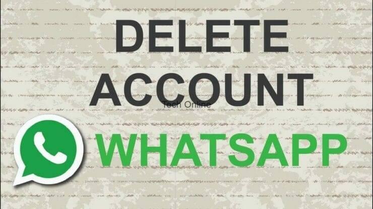 طريقة حذف حساب الواتساب الخاص بك نهائياً