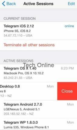5 طرق لضبط الخصوصية والأمان على Telegram 3