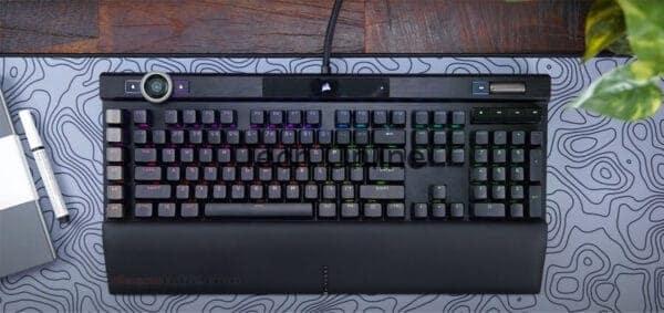 لوحة مفاتيح قرصان K100 RG