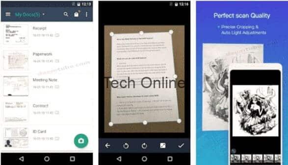 ماسح CamScanner-PDF لنظام Android