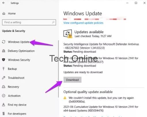 إصلاح مشكلة الشاشة البيضاء للكمبيوتر المحمول [شاشة الموت البيضاء WSOD] 5