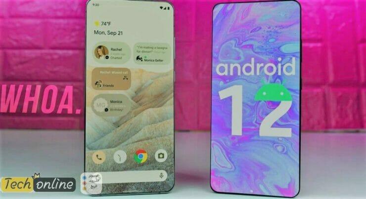 جوجل تعلن رسمياً عن Android 12 لجميع الهواتف