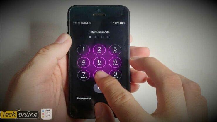 حل مشكلة نسيان كلمة سر الهاتف